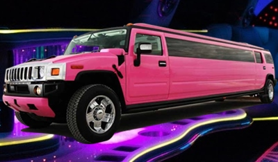 Pink Limo St Charles