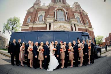Wedding Party Bus Limo
